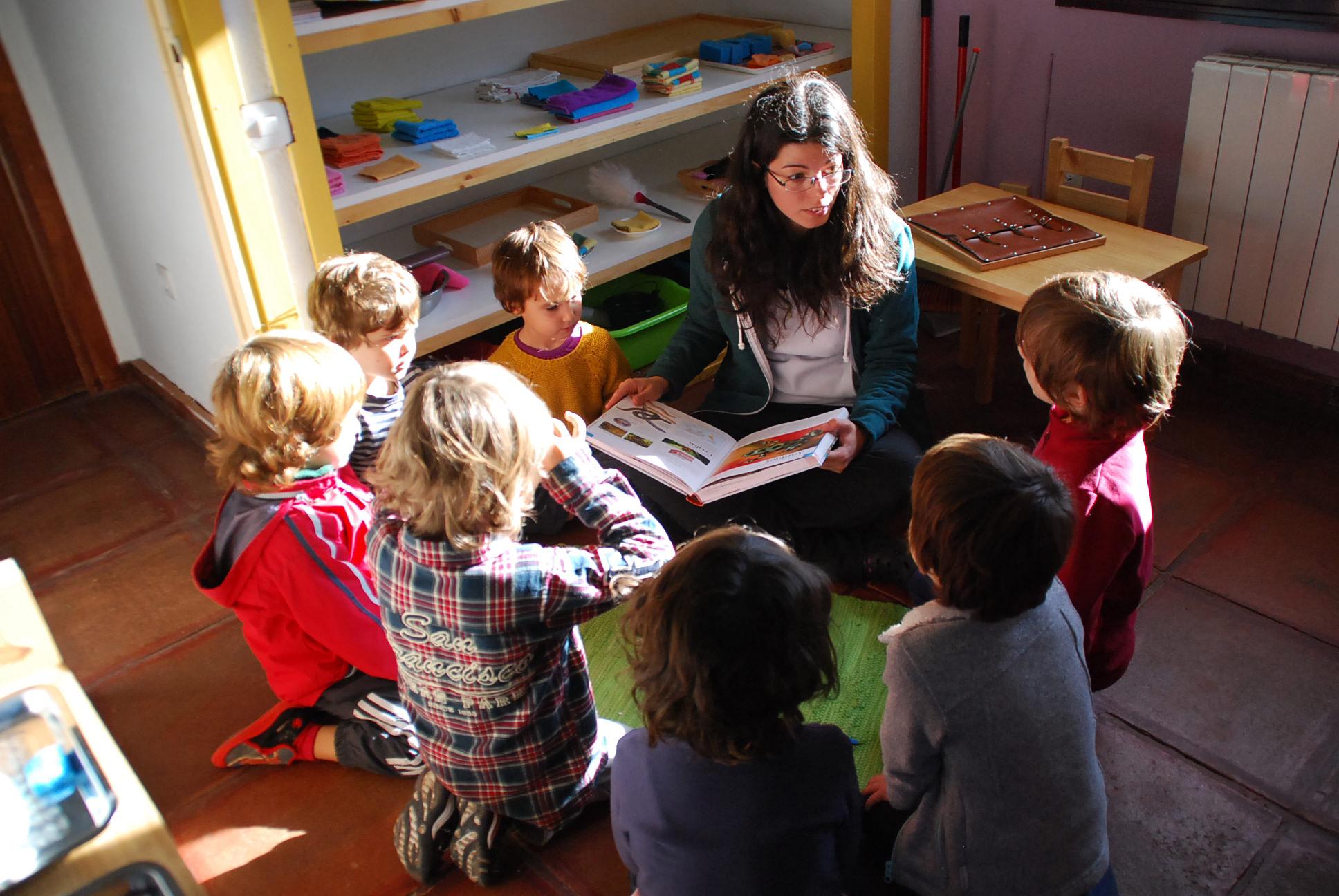 Dinámica de trabajo en Casa de niños
